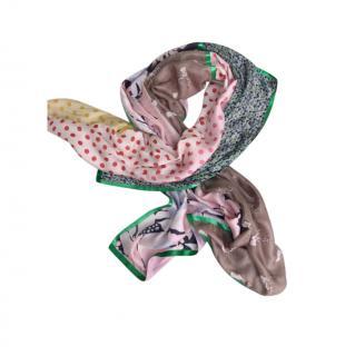 Erfurt patterned silk scarf