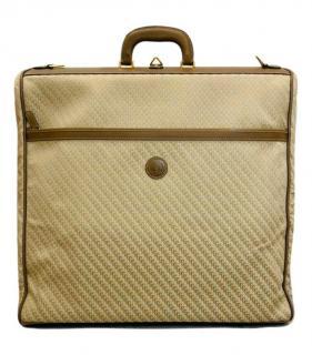 Gucci Beige Vintage Monogram Garment Carrier