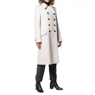 Brunello Cucinelli Double Breasted Classic Wool Coat