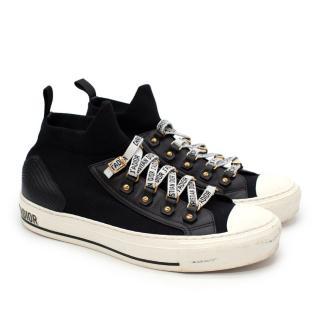 Dior Walk'N'Dior Black Technical Mesh Sneakers