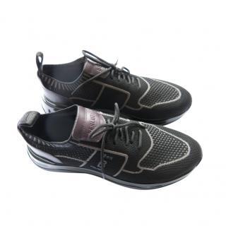 Berluti lightweight black trainers