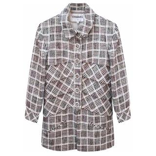 Chanel Waterfall Collection tweed jacket