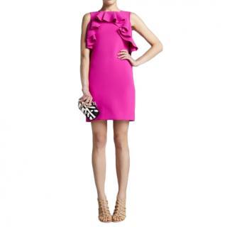 DVF magenta pink Pandora dress