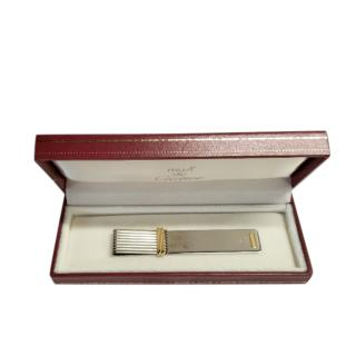 Cartier stainless steel book mark