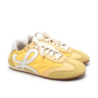 Loewe Yellow Ballet Runner Sneakers