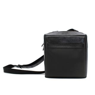 Louis Vuitton Black Leather Crossbody Bag