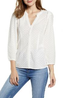 Paige Alanie Eyelet Broderie Blouse