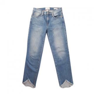 Frame blue Le Noveau Straight Jeans
