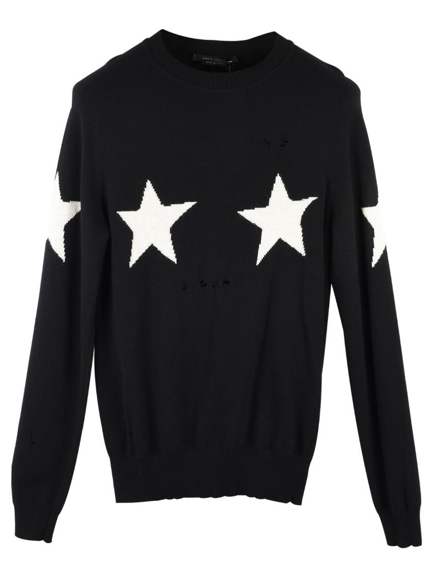 Marc Jacobs Star Intarsia Cashmere Blend Jumper