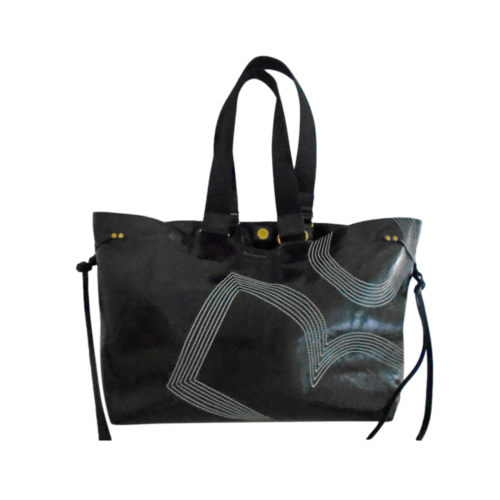 Isabel Marant Distressed Patent Leather Wardy Bag