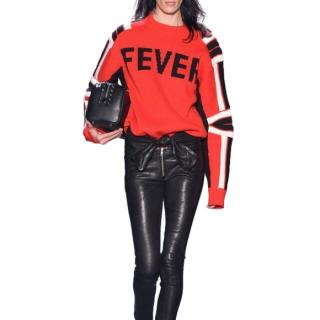 Zadig & Voltaire Red wool Fever Jumper