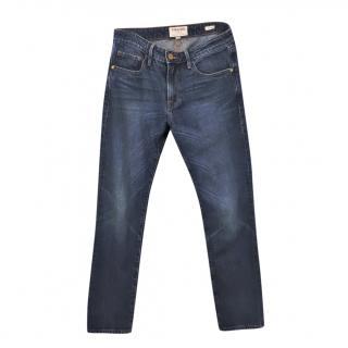 Frame blue Le Grand Garcon BoyfriendJeans  size 23