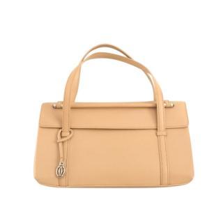 Cartier nude beige leather Cabochon bag