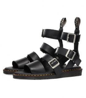 Rick Owens Dr Martens black sandals
