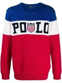 Ralph Lauren Polo USA Flag Sweater