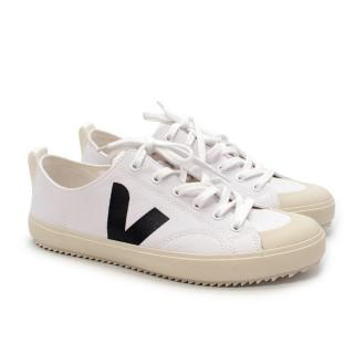 Veja Nova Canvas White Sneakers