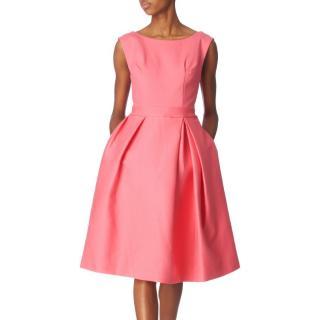 Acne bubblegum pink twill Baby Dress