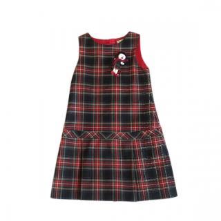 Dolce & Gabbana Girls Plaid Dress