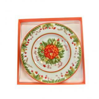 Hermes Le Jardin de Pythagore Dessert Plate