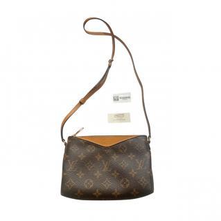 Louis Vuitton Saffron/Monogram Pallas BB Crossbody Bag