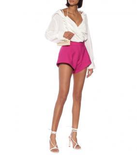 Jacquemus Le Short Rosa Wool Shorts