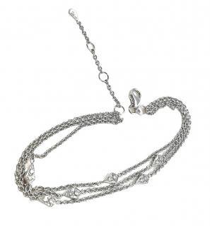 William & Son London Collection Diamond Chain Bracelet