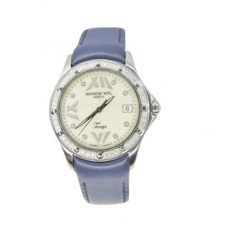 Raymond Weil Stainless Steel Tango Diamond Watch