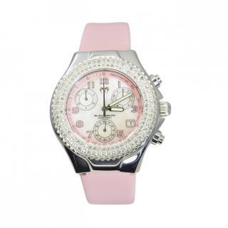 TechnoMarine 1.2ct Diamond Pink Watch