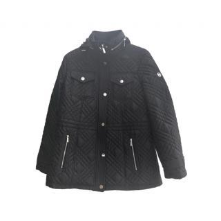 Michael Michael Kors Black Quilted Jacket