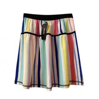 Rykiel Enfants Multicoloured Striped Jersey Skirt