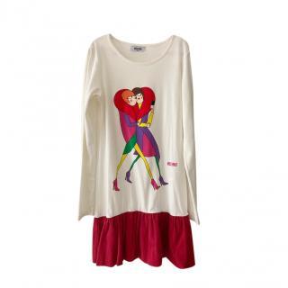 Moschino Teen 12Y Printed Dress