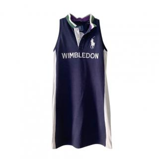 Polo Ralph Lauren Kids 12-14Y Wimbledon Polo Dress