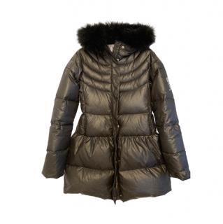 John Galliano Kids 14Y Down Hooded Coat