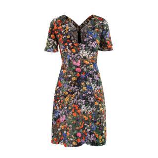 Stella McCartney Floral Print Mini Dress