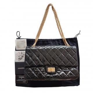 Chanel Black Patent Reissue 227 Flap Bag