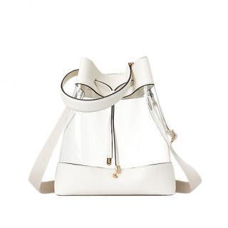 Lauren Ralph Lauren Debby Drawstring Bag Clear/vanilla