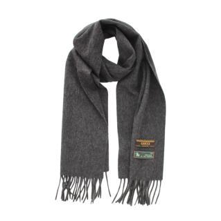 Gucci Grey Cashmere & Wool Limited Edition Scarf