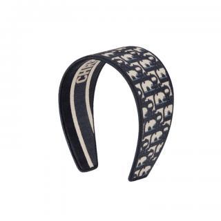 Dior D-Oblique Jacquard Monogram Headband