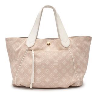 Louis Vuitton Sable Canvas Cabas Ipanema GM Shoulder Bag