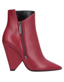 Saint Laurent Niki 105 Asymmetric Cone Heel Ankle Boots