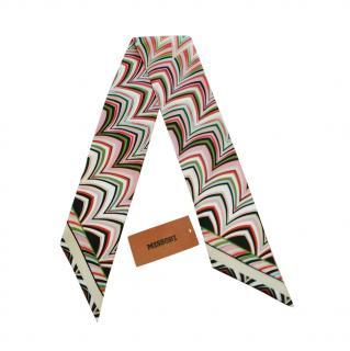 Missoni Multicoloured Printed Silk Bandeau
