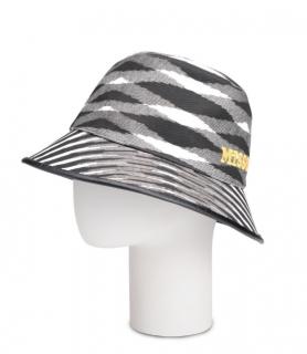 Missoni Cotton Canvas Black & White Bucket Hat