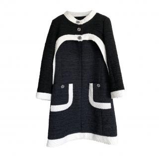Chanel Black & White Tweed Jacket and Dress