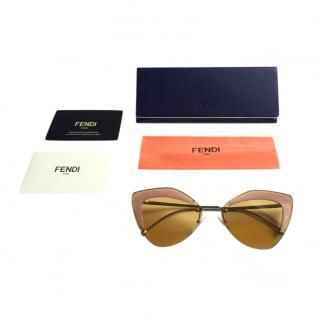 Fendi Yellow & Pink FF 0355 Sunglasses