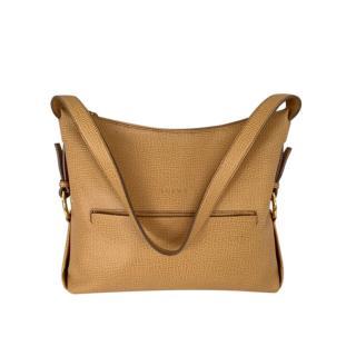 Loewe Tan Vintage Leather Shoulder Bag