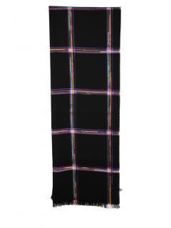 Paul Smith Rainbow Check Wool Scarf