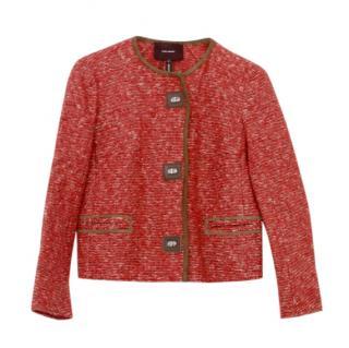 Isabel Marant red wool blend jacket