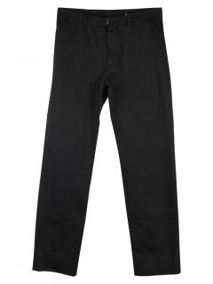 Maison Margiela Men's Black Slim Leg Trousers