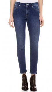 Acne Studios Skin 5 Used Blue Jeans