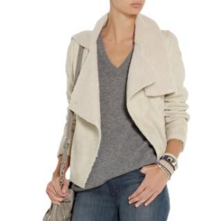 Isabel Marant Clayne Ecru Shearling Jacket
